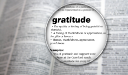 SHUKR: TO HAVE AN ATTITUDE OF GRATITUDE